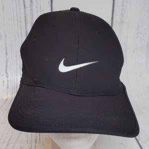 Nike Golf Vapor Black Strapback Hat Cap